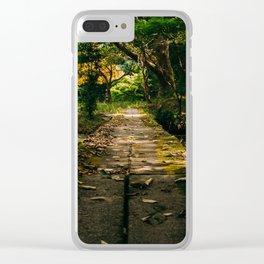 Usa Shrine Bridge Clear iPhone Case