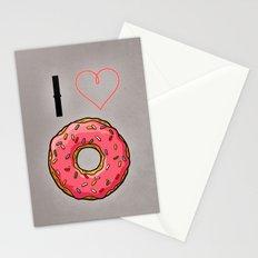 I love donut Stationery Cards