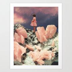 ROSE QUARTZ Art Print