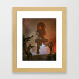 DOH (everyday  08.25.18) Framed Art Print