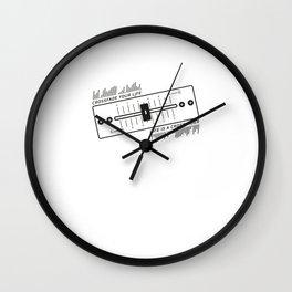 DJ Crossfade Your Life Wall Clock