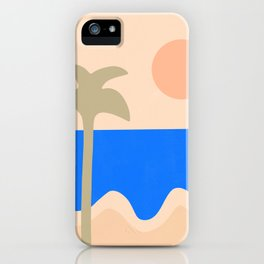 abstract paradise 4 iPhone Case