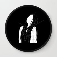 haim Wall Clocks featuring Days Are Gone by Janine