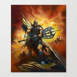 The Darkslayer: Bestselling Fantasy Series Canvas Print