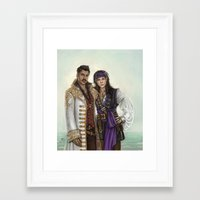 pirates Framed Art Prints featuring Pirates by Slugette