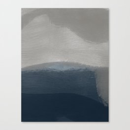 Feeling is Leisure Abstract Art Canvas Print