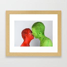 XX - XY Framed Art Print