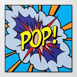 POP Art 4 Canvas Print