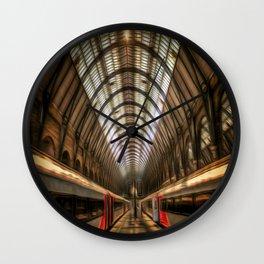 Kings Cross Station Night Art Wall Clock