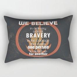 Dauntless Manifesto Rectangular Pillow