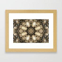 Lacy Mosaic - Fractal Art Framed Art Print
