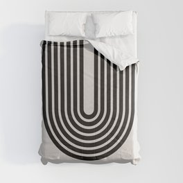 Arch Mid Century Modern Art Comforters