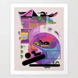uitztztz Art Print
