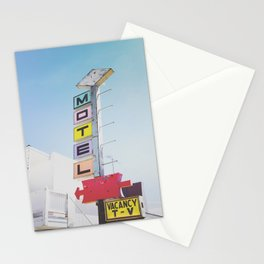 Motel Vacancy Stationery Cards