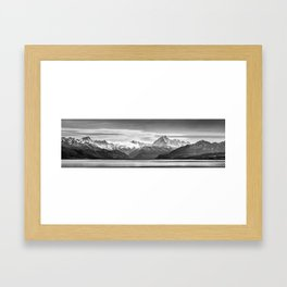 Mount Cook Panorama Framed Art Print