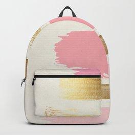 Brush Strokes (Rose/Gold) Backpack