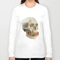 taco Long Sleeve T-shirts featuring Death By Taco by Fontolia (Katie Blaker)