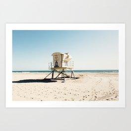 Huntington Beach Art Print