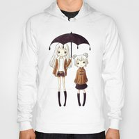 sisters Hoodies featuring Sisters by Freeminds