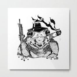 Boss Frog Metal Print