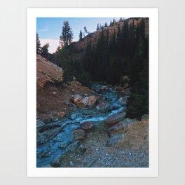 Sulfer Creek Art Print