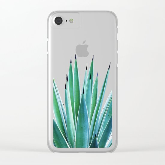 Agave Love #society6 #decor #buyart Clear iPhone Case