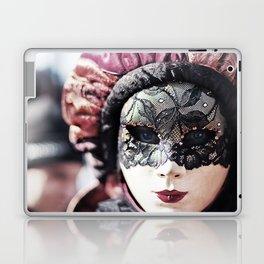 Italy Venice Mask 4 woman Laptop & iPad Skin