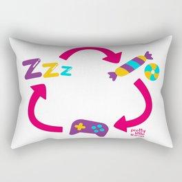 Repet candy sleper video game Rectangular Pillow