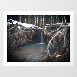 Fairytale Grotto Art Print