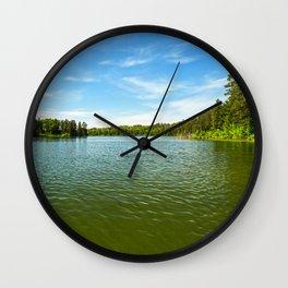 Lake Itasca - Minnesota, USA 15 Wall Clock
