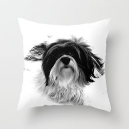 Bichon Havanais Throw Pillow