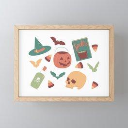 Spooky Season Framed Mini Art Print