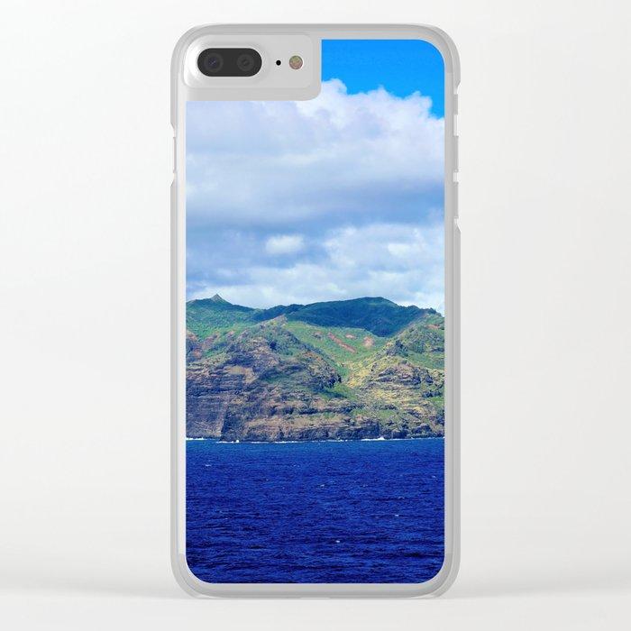 Kauai's Bright Welcome Clear iPhone Case