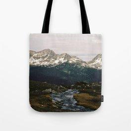 Whistler Mountain View, British Columbia Tote Bag