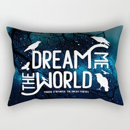 Dream me the world v2 Rectangular Pillow