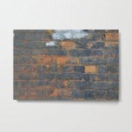 Burned Brick Metal Print