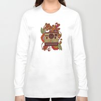 valentina Long Sleeve T-shirts featuring Out of sight! by Valentina Harper