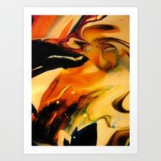 residual vortex Art Print