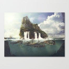 Tortuga Island Canvas Print