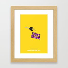 BUCK CA RIME AVEC FUCK ( Kill Bill ) Framed Art Print