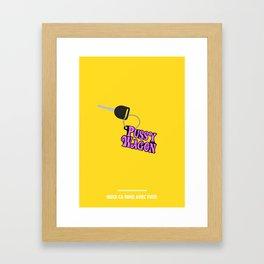 BUCK CA RIME AVEC FUCK ( Kill Bill ) Framed Art Print