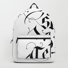 Get shit (it) done hand lettering Backpack