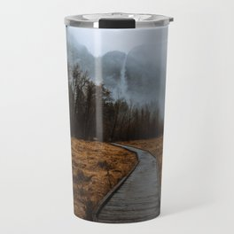 Misty Yosemite Trails Travel Mug