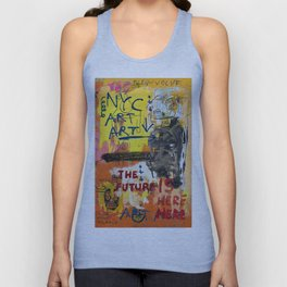 NYC Art Art Unisex Tank Top