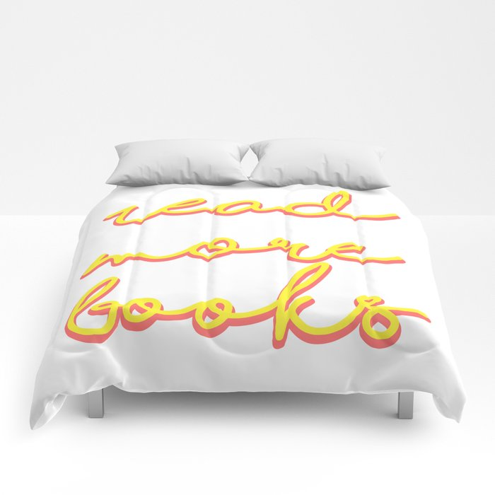 Read More Books Comforters