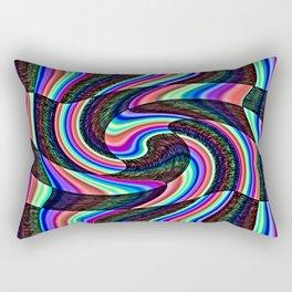 A Touch Of Madness Rectangular Pillow
