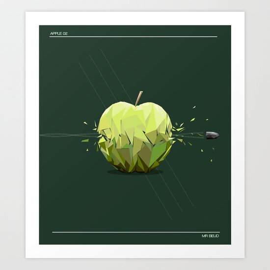 Apple 02 Art Print