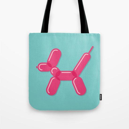 Balloon Dog Tote Bag