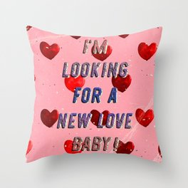 I'm looking for a new Love Baby – A Hell Songbook Edition Throw Pillow