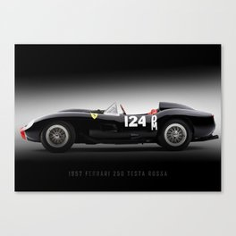 1957 - 250 Testa Rossa Canvas Print